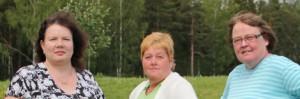 Päivi, Kyllikki ja Marjatta ovat tulleet projektinsa päätökseen. Vanhalle tielle kukaan ei tahdo palata.