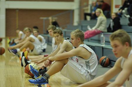 Ura Basketin Eero Myllymäki osallistui nuorisomaajoukkueen haastajaleirille.