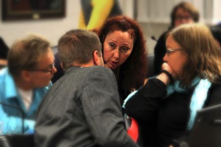 Niina Virranheimo ei viihtynyt perussuomalaisten ryhmässä. Kuva: Simo Ahtee.