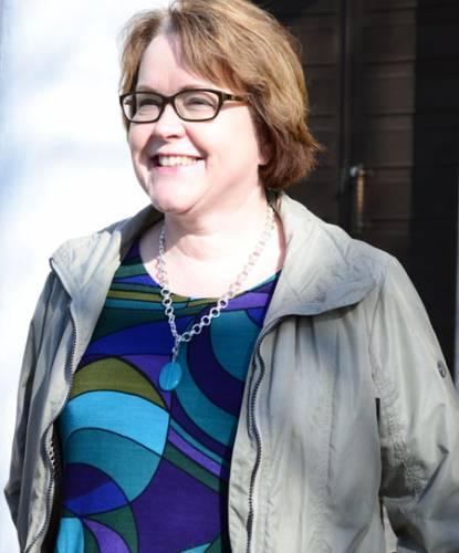 Huhtikuussa 60-vuotissyntymäpäiviään viettänyt yrittäjä ja vaikuttaja Marja Vaiste aikoo mennä retriittiin. Kuva: Sari Järvinen