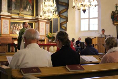 Piikkiössä järjestettiin Gospelmessu lauantaina. Gospelmessuja järjestetään muutama vuosittain.