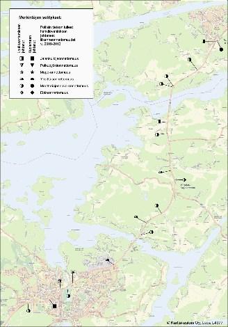 Kartta: Ely-keskus