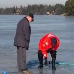 Littoistenjärven jää oli viime vuonna ennätyksellisen ohut. Miten käy mittaajien tänä vuonna?