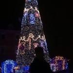 Puolassa jouluvalot ja koristeet olivat näyttävämpiä kuin Suomessa.