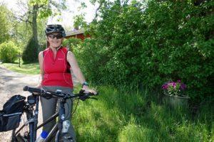 Turun Ladun toiminnassa mukana olevan Mervi-Leena Heinosen ensimmäinen kohde oli Mattelmäen kartano. Aktiivinen kaarinalainen pyöräilijä lähti sieltä kiertämään muita rasteja.