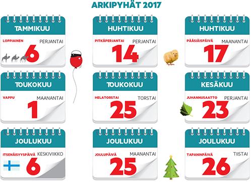 joulu 2018 vapaat Joulu tuo lisää arkivapaita ensi vuonna | Kaarina lehti joulu 2018 vapaat