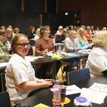 Valtakunnallisessa kokouksessa oli 46 osallistujaa. Kaukaisimmat matkustivat Kaarinaan Oulusta.